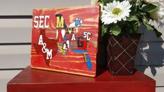 This is the perfect gift for anyone who loves the SEC Conference. Hand painted. TX A&M Aggies, MO Tigers, AR Razorbacks, LSU Tigers, UK Wildcats, Vandy, TN Volunteers, Ole Miss Rebels, MS Bulldogs, AL Crimson Tide, Auburn Tigers, GA Bulldogs, SC Gamecocks, FL Gators. (scheduled via http://www.tailwindapp.com?utm_source=pinterest&utm_medium=twpin&utm_content=post109623431&utm_campaign=scheduler_attribution)