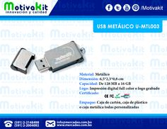 USB metálico