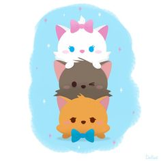 Pixar Drawing happy tsum tsum tuesday from the aristocats! - happy tsum tsum tuesday from the aristocats! Disney Pixar, Disney Cats, Disney Tsum Tsum, Disney Fan Art, Disney And Dreamworks, Disney Films, Disney Songs, Disney Quotes, Disney Magie