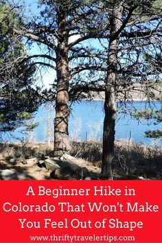 Colorado has so many beautiful hikes, but finding one that fits your hiking expertise level can be difficult. Here is a beginner hike in Colorado that won't make you feel out of shape for those who are just getting into hiking. It's relaxing, yet still challenging and has beautiful lake views throughout your hike. If you're looking for a fun hike in Colorado, this is for you. Don't forget to save this to your hiking board!