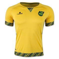 Jamaica 2015 Home Soccer Jersey