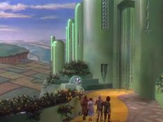 The gates of Emerald City from The Wizard of Oz (1939)