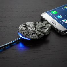 Star Wars Millennium Falcon Micro-USB Charging Cable http://amzn.to/2qZ3RzU http://amzn.to/2spd3Ru
