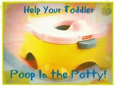 16 Tips to Help Your Toddler Poop in the Potty!!   We all know how helpful this can be when we've got a little one who just refuses to poop on the potty!