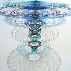 "Saatchi Art Artist Mary Wagner; Drawing, ""Resonance Disaster Landscape"" #art"