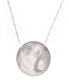 ShopStyle: XL Disc Necklace