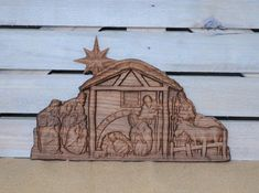 Beautifully Made Carved Nativity Scene- Walnut wood. Lovely Gift for your family member that collects Nativity Scene Decor. A treasured gift for years to come. Christmas Home Décor Christmas Wood Crafts, Country Christmas Decorations, Christmas Nativity Scene, Great Christmas Gifts, Christmas Home, Nativity Creche, Halloween Home Decor, Halloween House, Halloween Cat