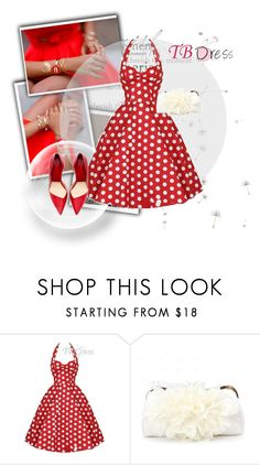 """""""TB Dress #26"""" by lejlasaric ❤ liked on Polyvore featuring vintage, women's clothing, women's fashion, women, female, woman, misses, juniors and tbdress"""