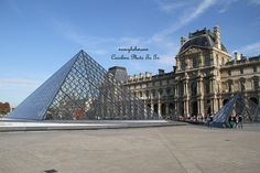 Louvre Museum Paris France captured by a high by nancyhehmann, $30.00