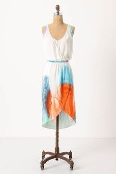 Feather Dress.- As a summer wedding guest?