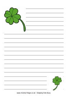 St. Patrick's Day Writing: Persuasive Letter to a ...