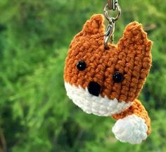 62 Easy Handmade Fun Crochet Pattern Keychains | DIY to Make