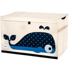 The 3 Sprouts toy chest is the perfect organizational tool for any room. With sides reinforced by cardboard our toy chest stands at attention even when empty an