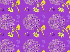 """DEEP ORCHID CHIVES"" by clairyfairy. Bedding in organic cottons. Cushions in linens. Upholstery in heavy duty twill."