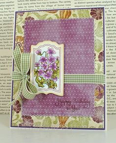 Welcome back for day two of Flourishes March Sneaks! Today Barbara Anders  created this gorgeous card using a stamp set that coordinates with Flourishes new Spellbinders die in Flourishes Tailor-Made Classic Bookplate Die. The coordinating stamp set is Flourishes brand new stamp set in Botanical Bookplates Vol. 1. For more information please be sure to check out her blog.