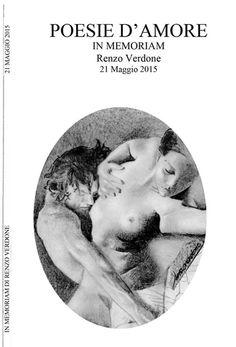 COPERTINA DEL LIBRICCINO DI POESIE con un disegno del maestro Renzo Verdone