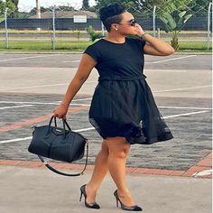 All black Dress! Pokello Nare Latest Photoshoot