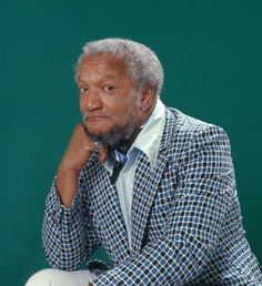 REDD FOXX Redd Foxx became famous for clutching his chest and calling out to his dead television wife Elizabeth as he pretended to have a he...