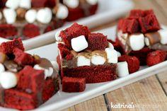 Decadent Red Velvet Brownies Recipe