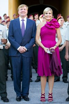 koningspaar:  King Willem-Alexander and Queen Maxima, Curacao