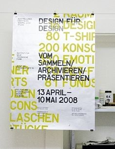 PORTFOLIO OF MARCEL FLEISCHMANN in Typography