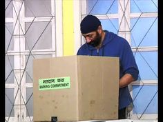Sunny Deol at polling booth casts his vote for 2014 Lok Sabha Elections.