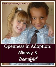 thoughts on openness in adoption