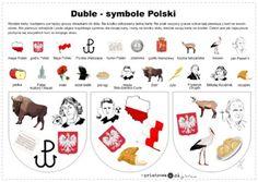 Wykreślanka - Lech, Czech i Rus - Printoteka. Montessori, Polish Language, Poland, Cross Stitch, Education, Schools, Logo, Geography, Countries