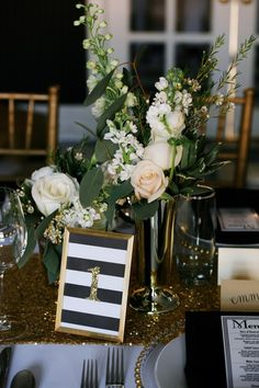 Items similar to Black & Gold Framed Table Numbers // Hollywood Glam Table Numbers // Glitter Wedding Table Numbers on Etsy Gatsby Wedding, Mod Wedding, Trendy Wedding, Wedding Day, Gatsby Theme, Wedding Gold, Gatsby Party, Cake Wedding, Framed Table Numbers