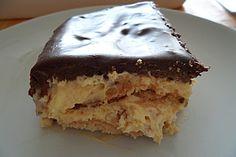 Blitz - Eclair - Kuchen, ein sehr leckeres Rezept aus der Kategorie Backen. Bewertungen: 2. Durchschnitt: Ø 3,5.