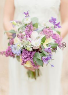 View entire slideshow: The Loveliest Lavender-Hued Bouquets You've Ever Laid Eyes On on http://www.stylemepretty.com/collection/2925/