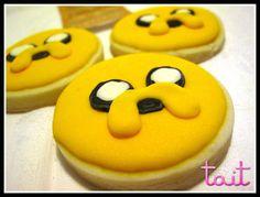 #Cookies #Jake #HoraDeAventura #AdventureTime Adventure Time, Cookies, Desserts, Food, Crack Crackers, Tailgate Desserts, Deserts, Biscuits, Essen
