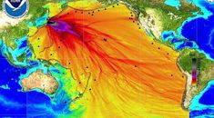 What was the most dangerous nuclear disaster in world history? Most people would say the Chernobyl nuclear disaster in Ukraine, but they'd be wrong. In an earthquake, believed to be an aftershock of the 2010 earthquake in Chile, created. Fukushima, Chernobyl, Grand Luxe, Nuclear Disasters, All Fish, Oceans Of The World, Nuclear Power, Explosions, School