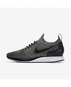 f00624666c48 Nike Air Zoom Mariah Flyknit Racer Light Charcoal Black Black Light  Charcoal 918264-008 Mens