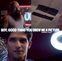 Oh Scott lol. Teen Wolf