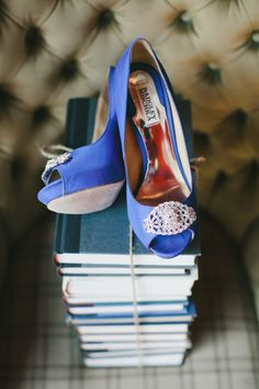 Genius Brunch Idea at Los Angeles Wedding from onelove photography - wedding shoes idea