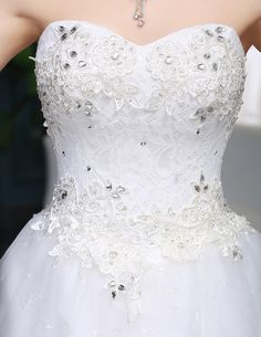 WTY85 2016 New Model Crystal Lace Appliques Wedding Dresses Real Photos
