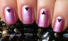 """China Glaze """"Astro-Hot""""  www.colorfulcrack.com"""