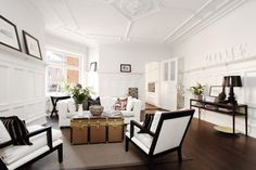 Perfect Charming Swedish Apartment With Lovely Interiors