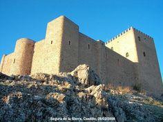 Castillo de Segura de la Sierra en Jaén - España. Foto de Imágenes Increíbles.
