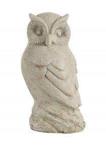18 1/2IN DECORATIVE OWL STATUE