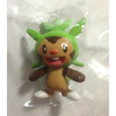 Pokemon Center 2014 Keshipoke XY Series #1 Chespin Pokeball Figure