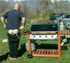 REDNECK GAS BBQ