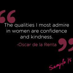 Thank you, Oscar de la Renta, for everything.