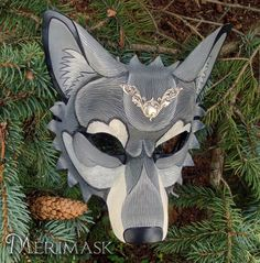 Leather Wolf Mask for The Band Perry by merimask.deviantart.com on @DeviantArt
