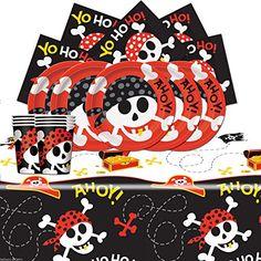 Pirate Skull Fun Children's Birthday Complete Party Table... https://www.amazon.co.uk/dp/B014V0ZQFS/ref=cm_sw_r_pi_awdb_t1_x_aqvRAbW9KYNRN