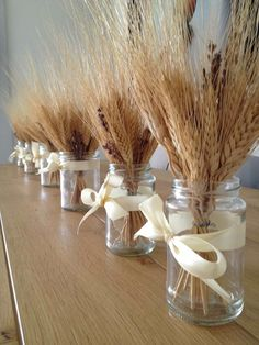 קישוט שולחן לשבועות Wheat Centerpieces, Wheat Decorations, Baptism Party Decorations, First Communion Decorations, First Communion Party, Wedding Table Centerpieces, Fall Wedding, Diy Wedding, Wheat Wedding