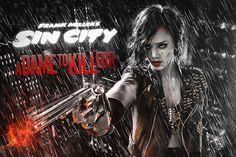 Thanks Rico Torres and Robert Rodriguez for the opportunity to create these posters. Respect to Frank Miller, he is Smokin'! Tv Movie, Comic Movies, Indie Movies, Sin City Movie, Sin City 2, Dramas, Jessica Alba Pictures, Anthology Film, Cinema