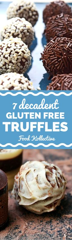 I was researching gluten free truffles and these look to die for! There are recipes for salted caramel truffles, chocolate truffles, pistachio truffles, and more. These would be perfect for a gluten f