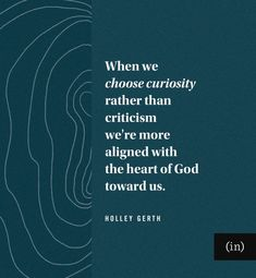 When we choose curiosity rather than criticism we're more aligned with the heart of God toward us. Writing Courses, Coach Me, Greater Good, Think Of Me, We Remember, Coping Skills, Be Kind To Yourself, You Tried, Bible Scriptures